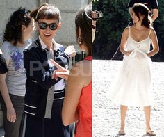 Photos of Penelope Cruz on the Set of Broken Embraces in Madrid