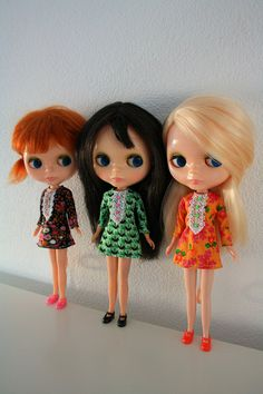 What I love most of all: Vintage Kenner Blythe dolls