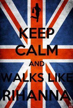 Walks like Rihanna |via fb