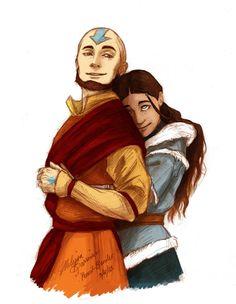 The Legend of Korra/Avatar the Last Airbender: katara and aang
