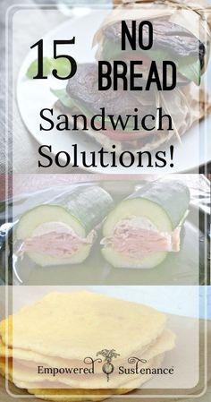 15 No-Bread Sandwich Solutions - Empowered Sustenance