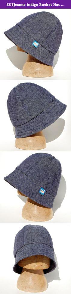 zutjeanne indigo bucket hat in italian linen my aim with this minimal hat was to