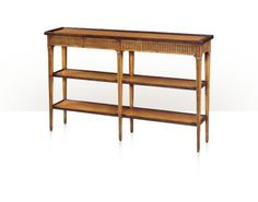 Chateau du Vallois The Provencale Honey Console by Theodore Alexander | Critelli's Furniture