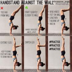 office yoga poses back pain . yoga poses for office workers . yoga poses for office . yoga poses in office . yoga poses for the office . Yoga Bewegungen, Cardio Yoga, Yoga Handstand, Yoga Flow, Handstands, Handstand Progression, How To Handstand, Wall Yoga, Pilates