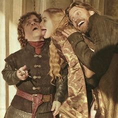 House Lannister. you can try to be badass all you want, you'll still act like siblings eventually lol