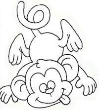 Resultado de imagem para moldes de macaco em eva