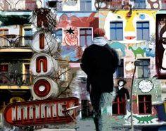 Kino Intimes Friedrichshain Berlin Fotocollage