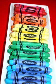 "pretzel sticks Arts & Crafts / Birthday ""Art Party- 5th birthday"" | Catch My Party"