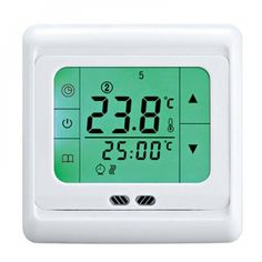 Floor Heating Thermostat, Home Thermostat, Baby Room Temperature, Underfloor Heating Systems, Heating And Cooling, Digital Alarm Clock, Software, Smartphone, Apps