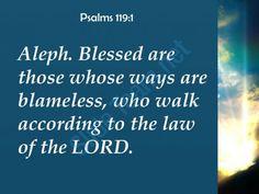 psalms 119 1 who walk according to the law powerpoint church sermon Slide03  http://www.slideteam.net/