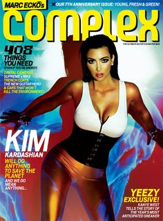 Top 10 Hottest Kim Kardashian Magazine Covers