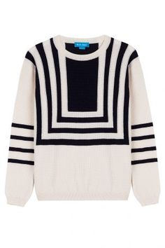 MiH Jeans MiH Jeans Strickpullover aus Wolle mit Geometrie-Muster &#8211…