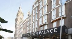 Booking.com: Hotel NH Amsterdam Barbizon Palace , Amsterdam, Netherlands Twin or full beds.  Right across from train station.  $692 for TWO nights  ($554 non-refundable.)