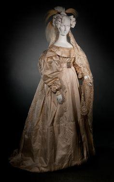 Wedding dress, 1830′sFrom the Helen Larson Historic Fashion...