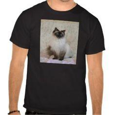 Seal Pointed Ragdoll Cat Tshirts  - Click to see more cat gift ideas: www.catthemedgifts.com ... #ragdollcats #catgiftideas #ragdolltshirts