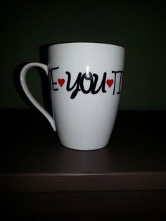 Be-YOU-tiful Coffee Mug Funny Coffee Lover Gift by ByJusteenCrafts