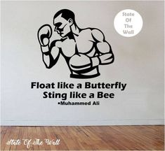 Boxing wall decall Decal Sticker Art Decor Bedroom Design Mural boys room boxer sport fitness health by StateOfTheWall on Etsy https://www.etsy.com/listing/239187010/boxing-wall-decall-decal-sticker-art