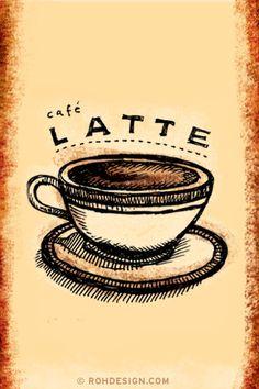 Latte (320x480 Wallpaper) | Flickr - Photo Sharing!