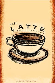 Latte (320x480 Wallpaper) | Flickr - Photo Sharing!