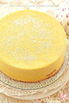 Soft and Light as Air Japanese Cheesecake – SugaryWinzy Asian Desserts, Easy Desserts, Japanese Cheesecake Recipes, Japanese Recipes, Asian Recipes, Cupcake Recipes, Dessert Recipes, Chef Recipes, Cooking Recipes