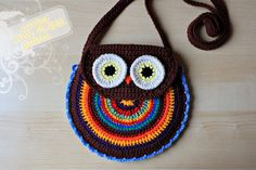 Crochet Owl Purse  PDF Pattern by ZoomYummy on Etsy, $4.90