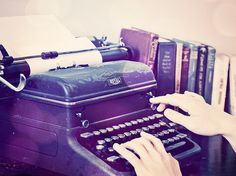Vintage Typewriter Vintage Typewriters, Story Inspiration, Writing Inspiration, Old Things, Little Things, Lovely Things, Portrait Photography, Antique Typewriter, Fairy Tales
