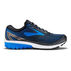 Pin this  Brooks Ghost 10 - Mens Running Shoes - Metallic Charcoal/Brooks Blue - http://fitnessmania.com.au/shop/sportitude/brooks-ghost-10-mens-running-shoes-metallic-charcoalbrooks-blue/ #Exercise, #Fitness, #FitnessMania, #Gear, #Gym, #Health, #Mania, #MenRunningShoes, #Sportitude