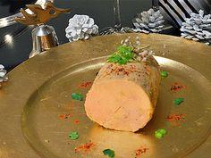 Foie gras au champagne et au micro-ondes