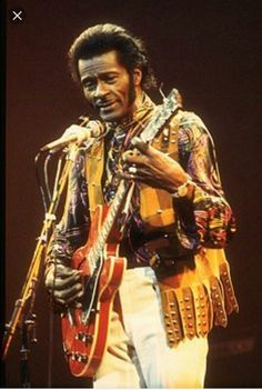 Mr Chuck Berry. We can't forget about the legends who started it all.