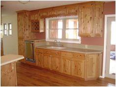knotty alder cabinets - Google Search