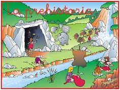 RECURSOS DE EDUCACION INFANTIL: PROYECTO PREHISTORIA Stone Age, Social Science, Preschool Activities, Social Studies, Album, Education, Painting, Fictional Characters, Escape Room