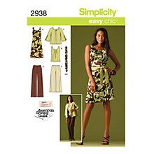 Buy Simplicity Easy Chic Outfit Sewing Pattern, 2938 Online at johnlewis.com