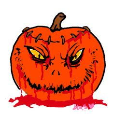It's Time To Draw Your Scariest Halloween Pumpkin! - #Halloween #Pumpkin  they asked me to draw a scary pumpkin