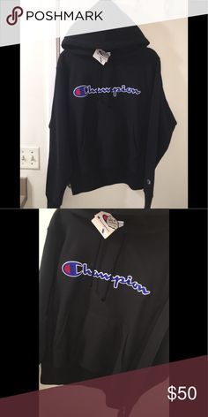 fc914982 CHAMPION HOODIE (BRAND NEW) FLASH SALE Size small Brand new with tags  Champion Shirts Sweatshirts & Hoodies