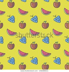 Find Cute Seamless Fruit Pattern Design Illustration stock images in HD and millions of other royalty-free stock photos, illustrations and vectors in the Shutterstock collection. Fruit Pattern, Illustration, Pattern Design, Royalty Free Stock Photos, Illustrations
