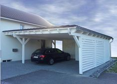 Pultdach Carport Picture Gallery - Check out our Pitched Roof Pul . - Pultdach Carport Picture Gallery – Take a look around in our Pitched Roof Pultdach Picture Galler -
