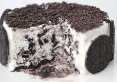 Oreo Ice Cream Cake – Eggless Cookies and Cream