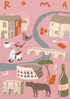 City Poster Contest,  Ilaria Proietti   Roma