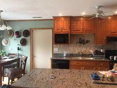 Kitchen - darker paint