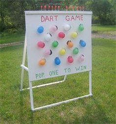 Pop the Balloons Dart Game