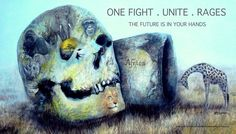 New one fight poster the future is in your hands
