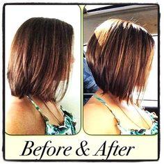 New Bob Haircuts 2019 & Bob Hairstyles 25 Bob Hair Trends for Women - Hairstyles Trends Bob Haircut 2018, Medium Hair Styles, Short Hair Styles, Inverted Bob Haircuts, Medium Inverted Bob, Hair Color And Cut, Great Hair, Hair Today, Fine Hair