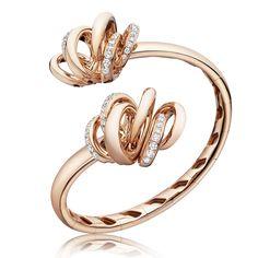 de GRISOGONO VORTICE [48401_04] Pink gold - White diamonds