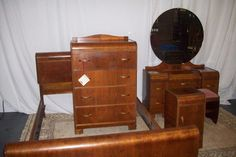 Antique Waterfall Furniture: God, I LOVE this design! Why doesn't anyone make these anymore?!