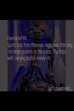 #cheer #hack #cheerhack #sportbra