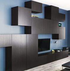 9 Awesome Ikea Besta Wall Unit Pic Ideas