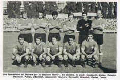 NOVARA 1970-71 SERIE B 11° posto per la squadra allenata da Carlo Parola il più presente Felice Pulici il portiere con 38 presenze Carlo Jacomuzzi xon 8 gol il miglior realizzatore