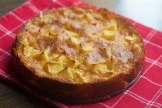 Рецепт низкокалорийного яблочного пирога с творогом