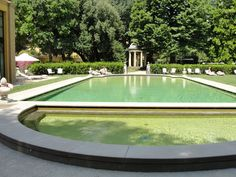 pool at the Four Seasons Florence