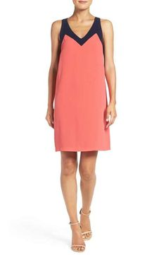 Felicity & Coco Colorblock Jersey Shift Dress (Nordstrom Exclusive)